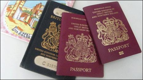 英国护照公证