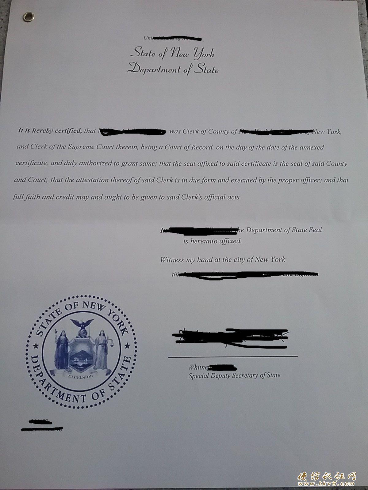 美国加州离婚证公证单身证明程序案例