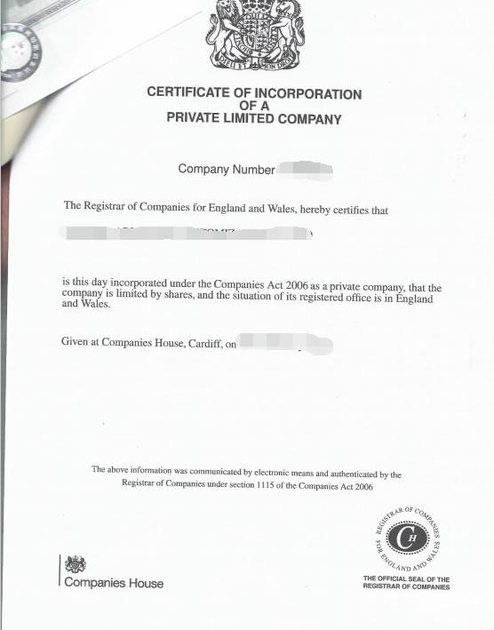 英国公司公证用于成都银行开户怎么办理?