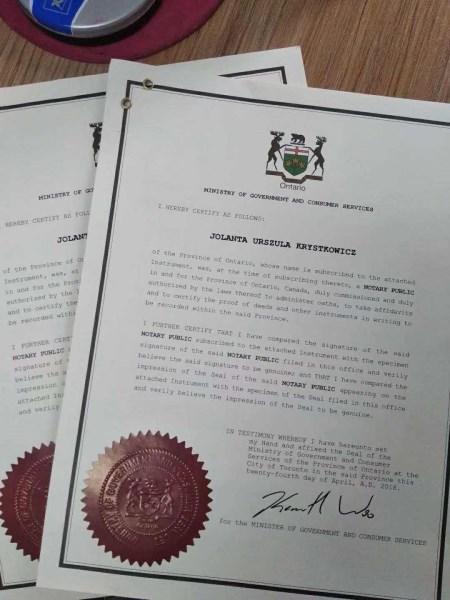 西班牙离婚证公证使馆认证样本_www.hkv6.com