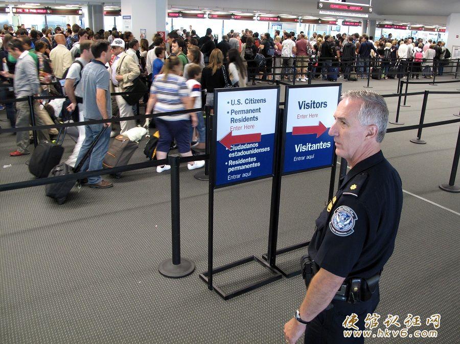 出入境美国